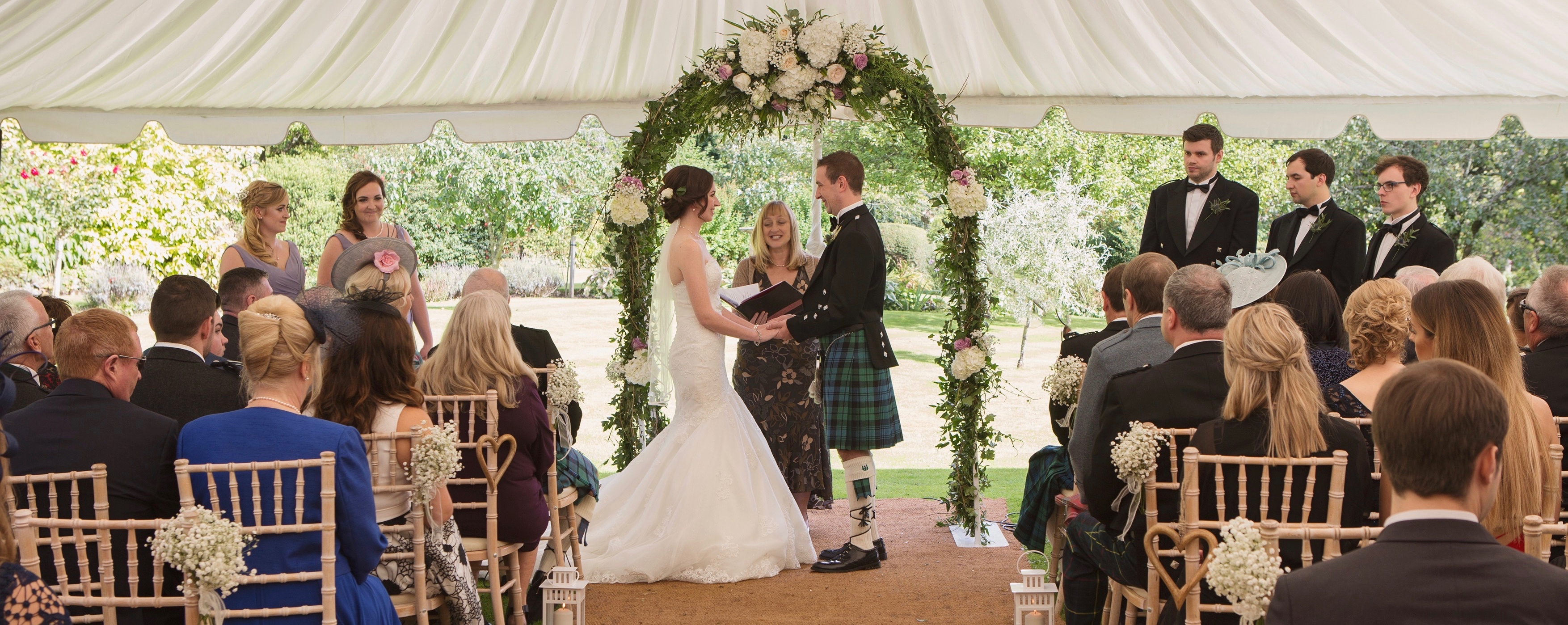 Garden Weddings Hillhouse