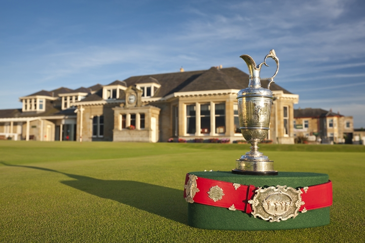 Prestwick - Clubhouse & Champions Belt