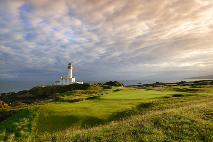 Turnberry 9th with Lighthouse